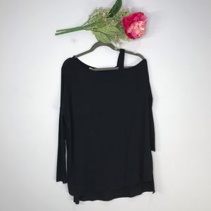 DKNY | Off The Shoulder Oversized Top SZ S
